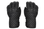 Black Leather Gloves † Mamba Negra