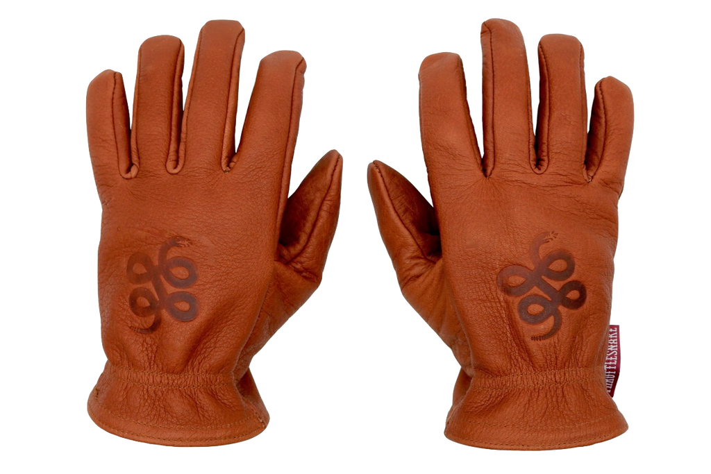 Cognac Buffalo Gloves † Road Roamer