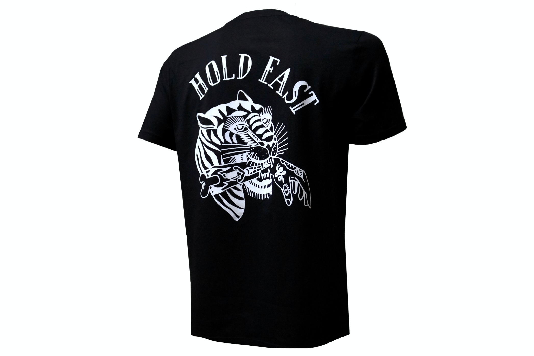 Camiseta Hold Fast † By Clemens Hahn - Negra
