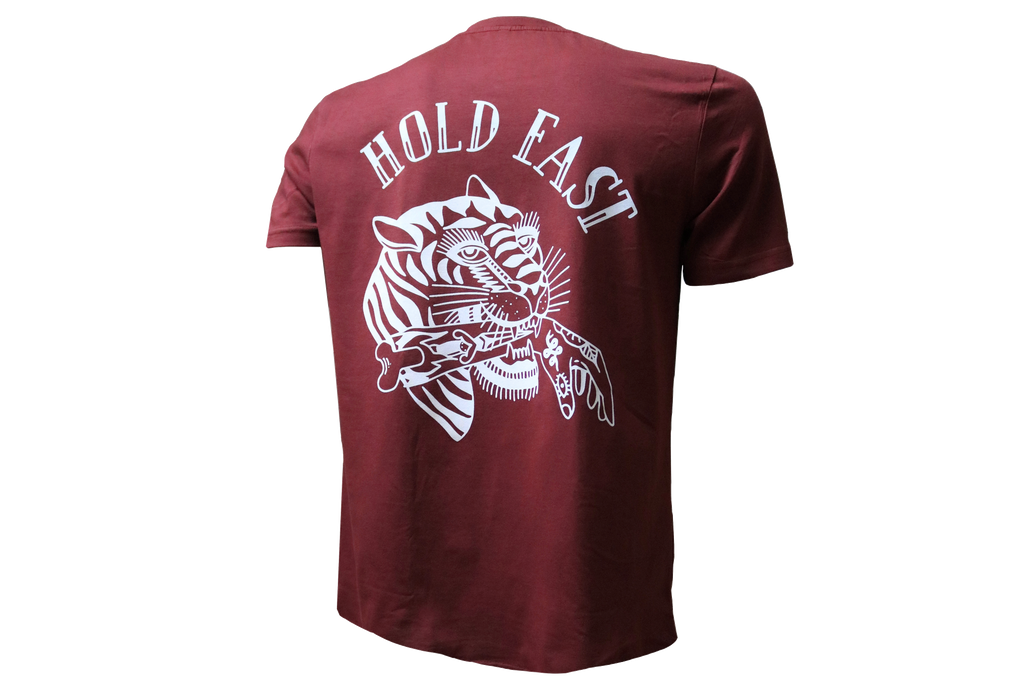 Hold Fast T-Shirt † By Clemens Hahn - Red