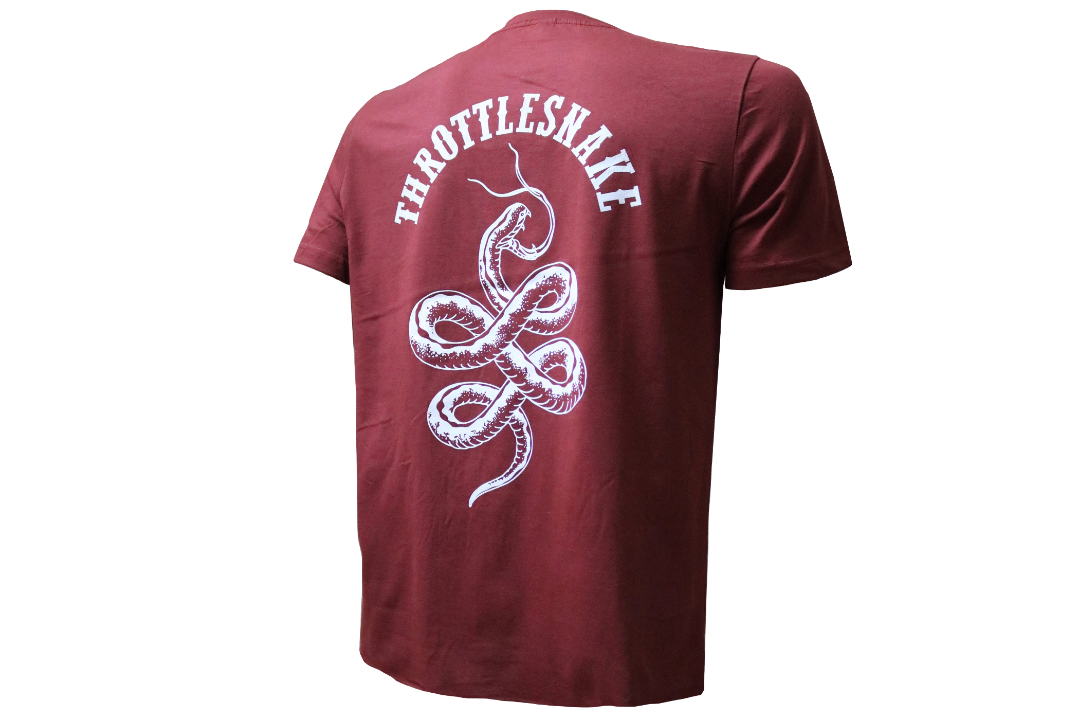 Throttlesnake T-Shirt † By Clemens Hahn - Red