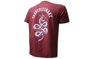 Camiseta Throttlesnake † By Clemens Hahn - Roja