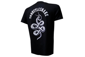 Camiseta Throttlesnake † By Clemens Hahn - Negra