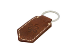 Throttlesnake Leather Keychain