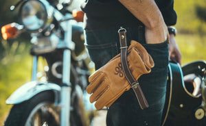 Leather Glove Holder