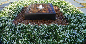 Geo Box Custom Fountain Water Features Concrete Creations