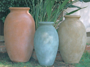 D- Jarrah Jar Oil Jars Concrete Creations