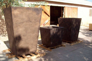 The Timely Planters in various sizes1 Planter Boxes Concrete Creations