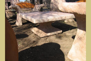 King Solomon Seating set X-Benches Concrete Creations