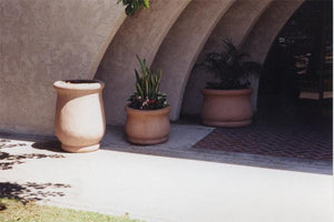 Topanga Trash rec (nb-18b) Trash/Ash Receptacles Concrete Creations
