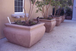"Manara Squared 48"" x48"" x 30"" Planter Boxes Concrete Creations"