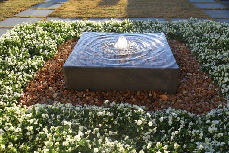 Geo Box Custom Fountain