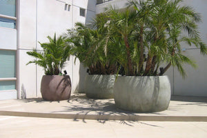 "The Barrel 84"" x 48, and 60"" x48"" Contemporary / Modern planters Concrete Creations"