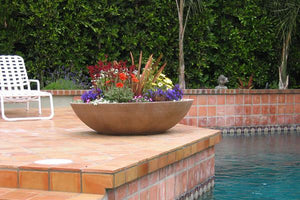 Wok Contemporary / Modern planters Concrete Creations