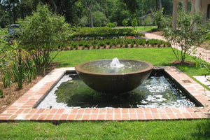 Simplicity Bowl Fountain Large Water Features Concrete Creations