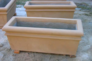 La Marino PLaya Rectangular Planter Boxes Concrete Creations