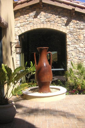 Macabee Oil jar Water Features Concrete Creations