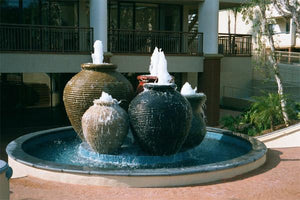 The Magnificent Five Fountain Water Features Concrete Creations