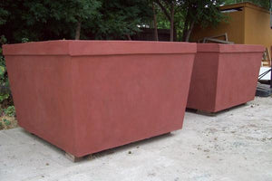Wilton Square Planter Boxes Concrete Creations