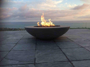 Product test Simplicity Edge Fire Bowl Concrete Creations