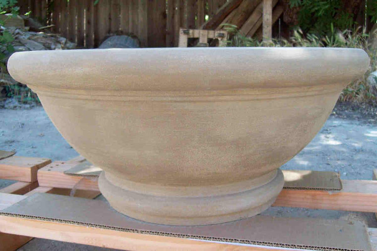"Tivoli Fire Bowl 24"" x11"" Aztec Gold"