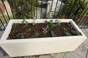Geo Box Rectangular Planter Boxes Concrete Creations