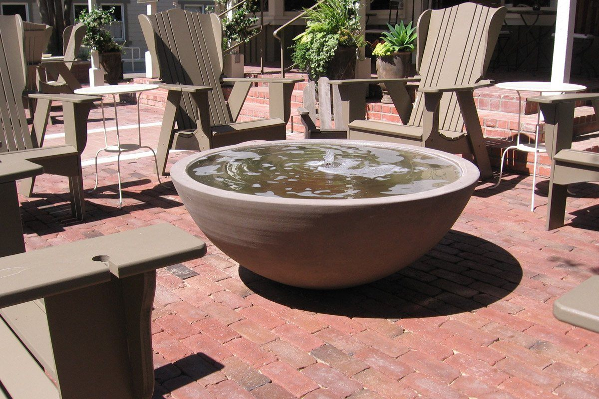 Simplicity Water Bowl Water Features Concrete Creations