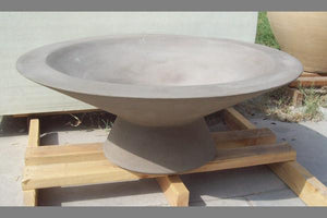 Asian Wok with Leg Fire Bowls / fire Pits Concrete Creations