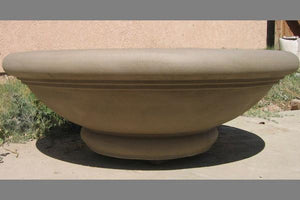 "Tivoli Fire Bowl 36"" x12"" Aztec Gold Fire Bowls / fire Pits Concrete Creations"