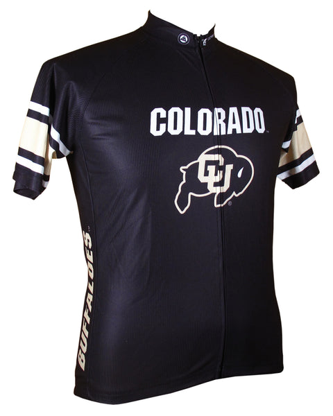 University of Colorado Pro Cycling Jersey Black & Gold