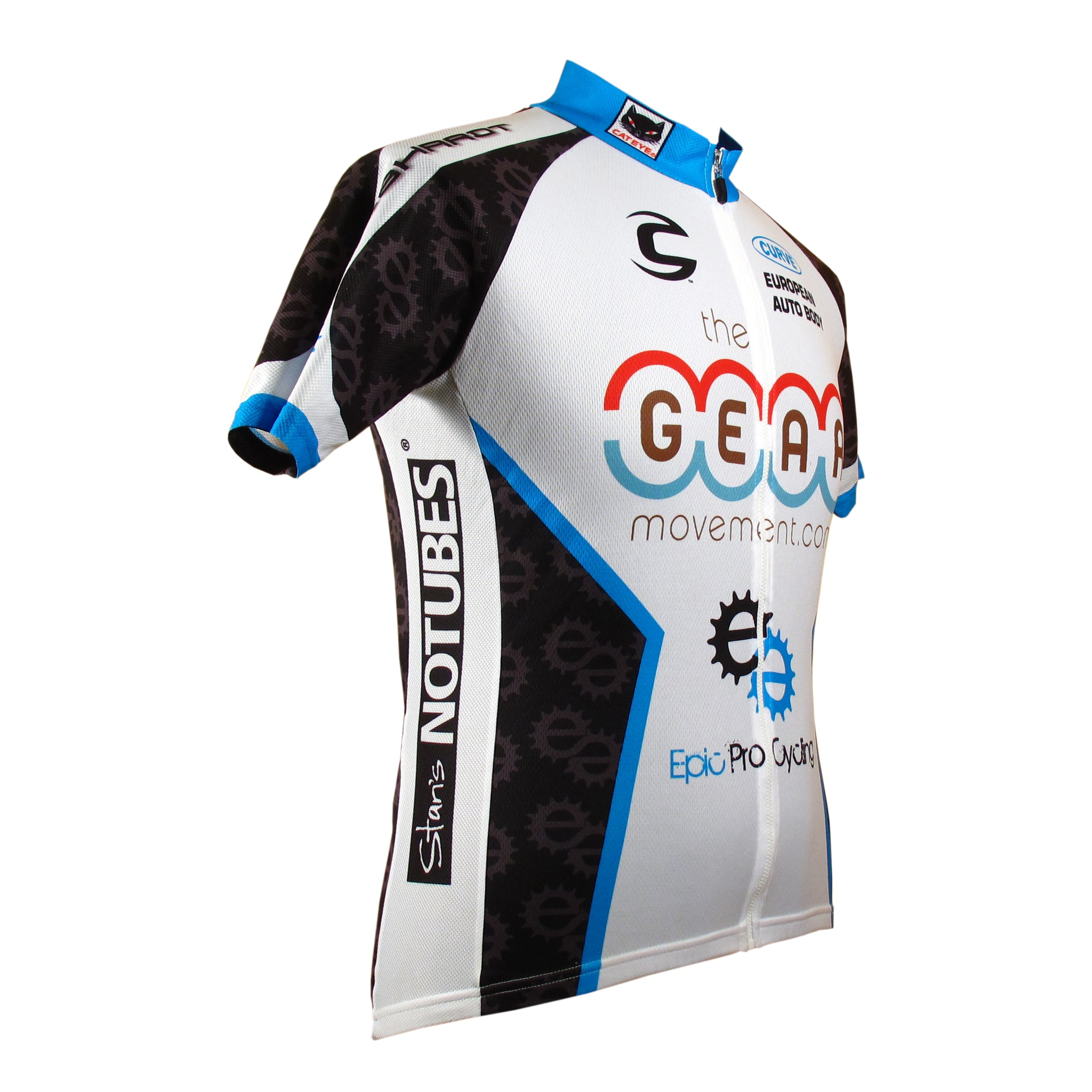 Curve JT-2 Summer Weight Custom Cycling Jersey