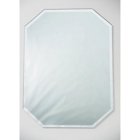 Mirror Reflector placemat with beveled edge