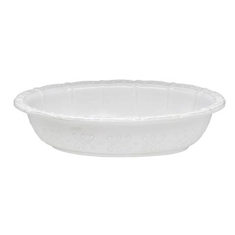 Skyros Designs Historia Small Serving Bowl Paperwhite