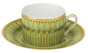 Deshoulieres Arcades Tea Cup And Saucer