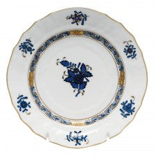 Herend Chinese Bouquet Black Sapphire Bread And Butter Plate