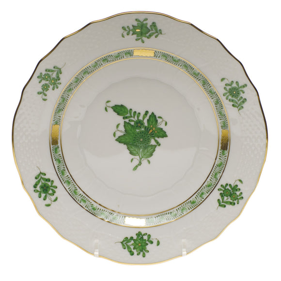 Herend Chinese Bouquet Green Salad Plate