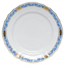 Herend Chineese Bouquet Garland Blue Bread & Butter Plate