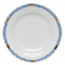 Herend Chinese Bouquet Garland Blue Dessert Plate
