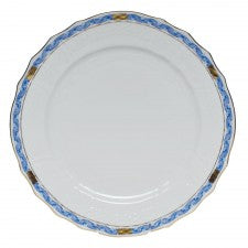 Herend Chinese Bouquet Garland Blue Service Plate