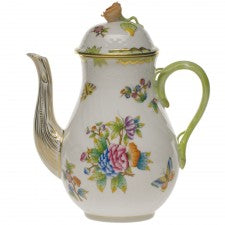Herend China Queen Victoria Coffee Pot