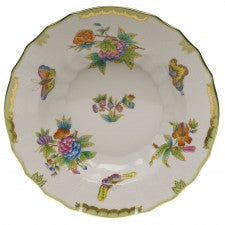 Herend China Queen Victoria Rim Soup Plate