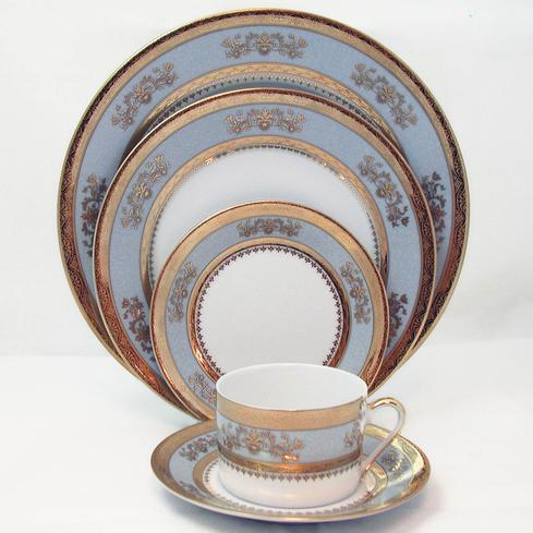 Deshoulieres Orsay Powder Blue 5-Piece Place Setting