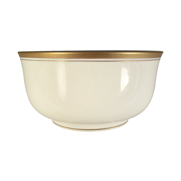 Pickard Palace Ivory & Gold Medium Round Bowl