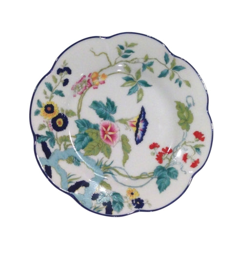 Royal Limoges Paradis Blue Bread And Butter Plate