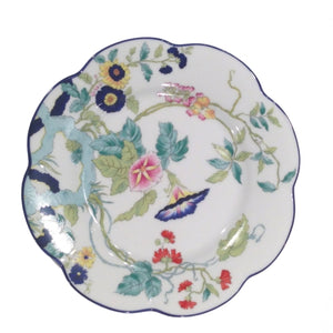 Royal Limoges Paradis Bleu Dinner Plate