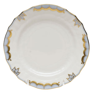 Herend China Princess Victoria Light Blue Bread And Butter Plate