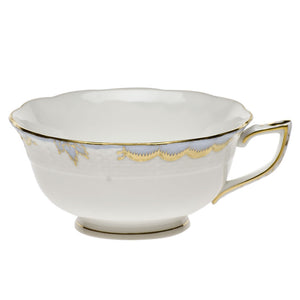 Herend China Princess Victoria Light Blue Tea Cup
