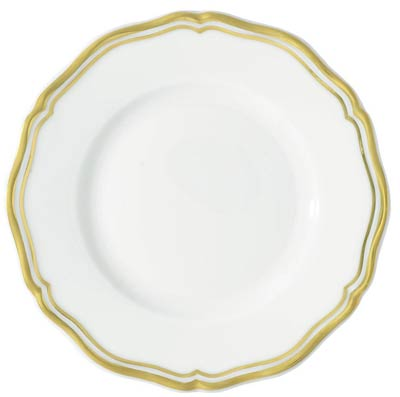 Raynaud polka Gold Bread & Butter Plate