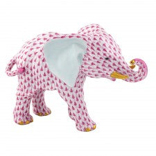 Herend Roaming Elephant Pink
