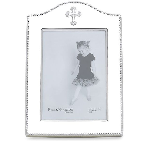 Abbey silver plate frame 4 x 6